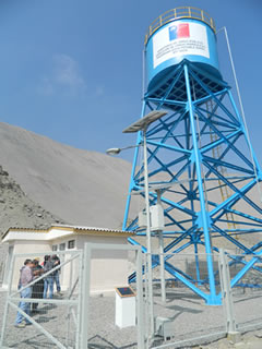Ministerio de obras p blicas regi n de tarapac for Estanques para agua potable